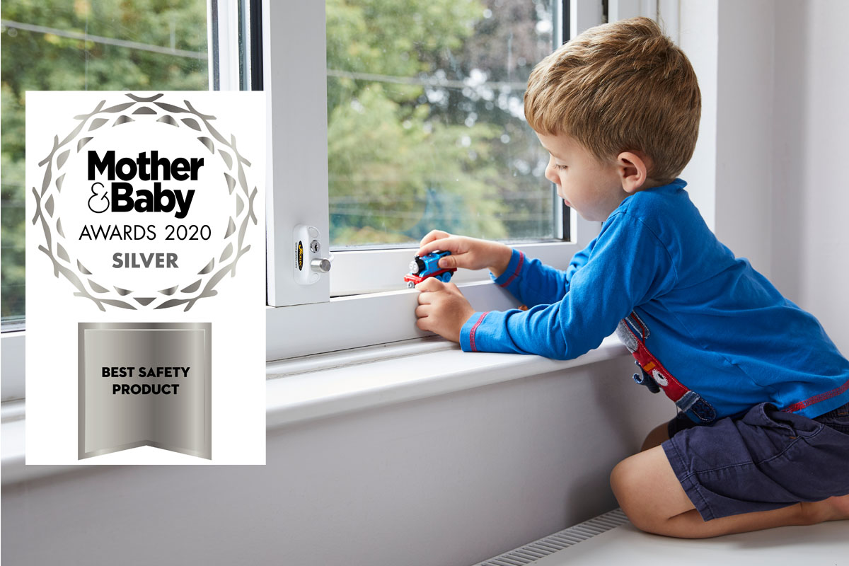 Jackloc win silver best safety product award at Mother and Baby Awards