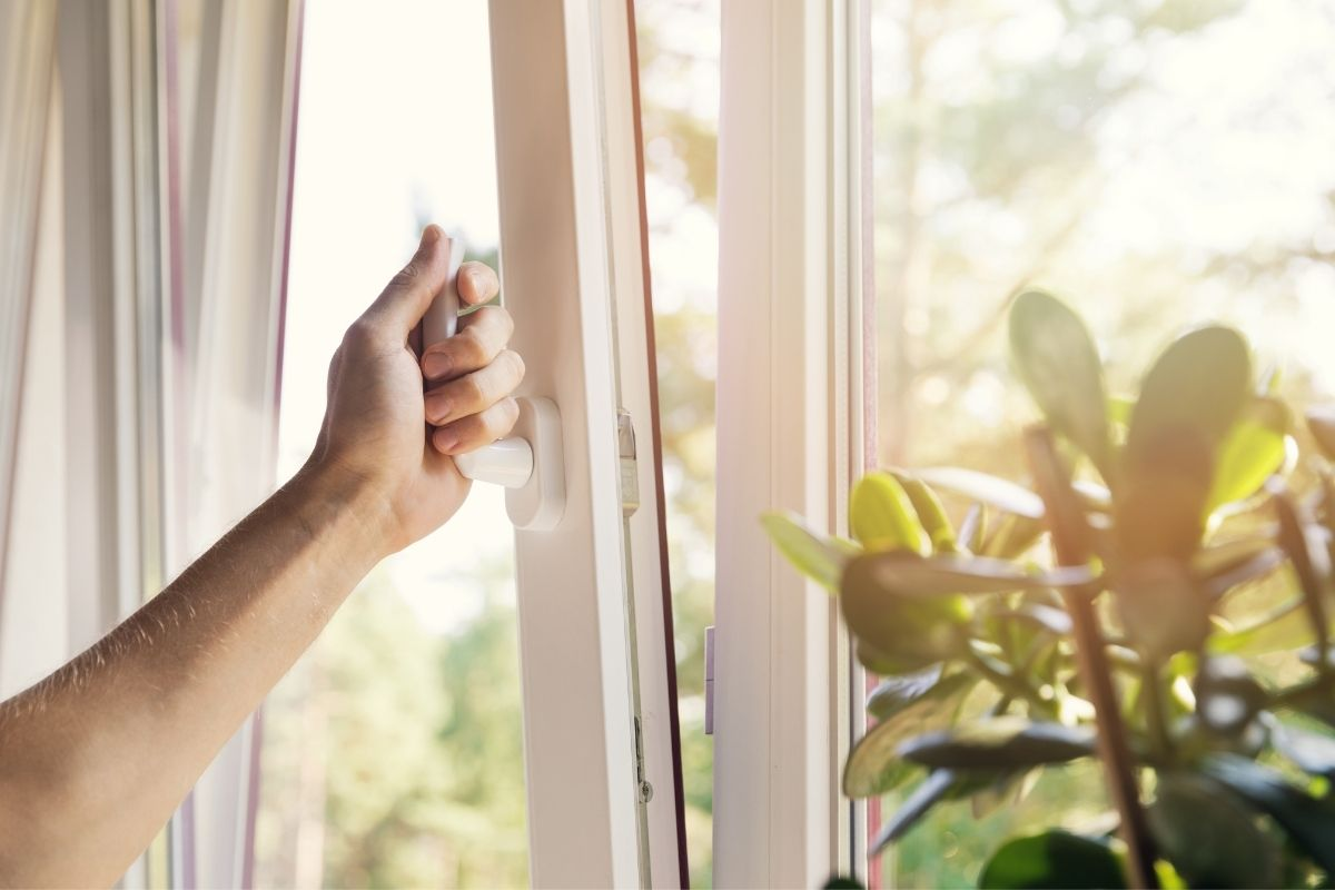 Window restrictors in care homes