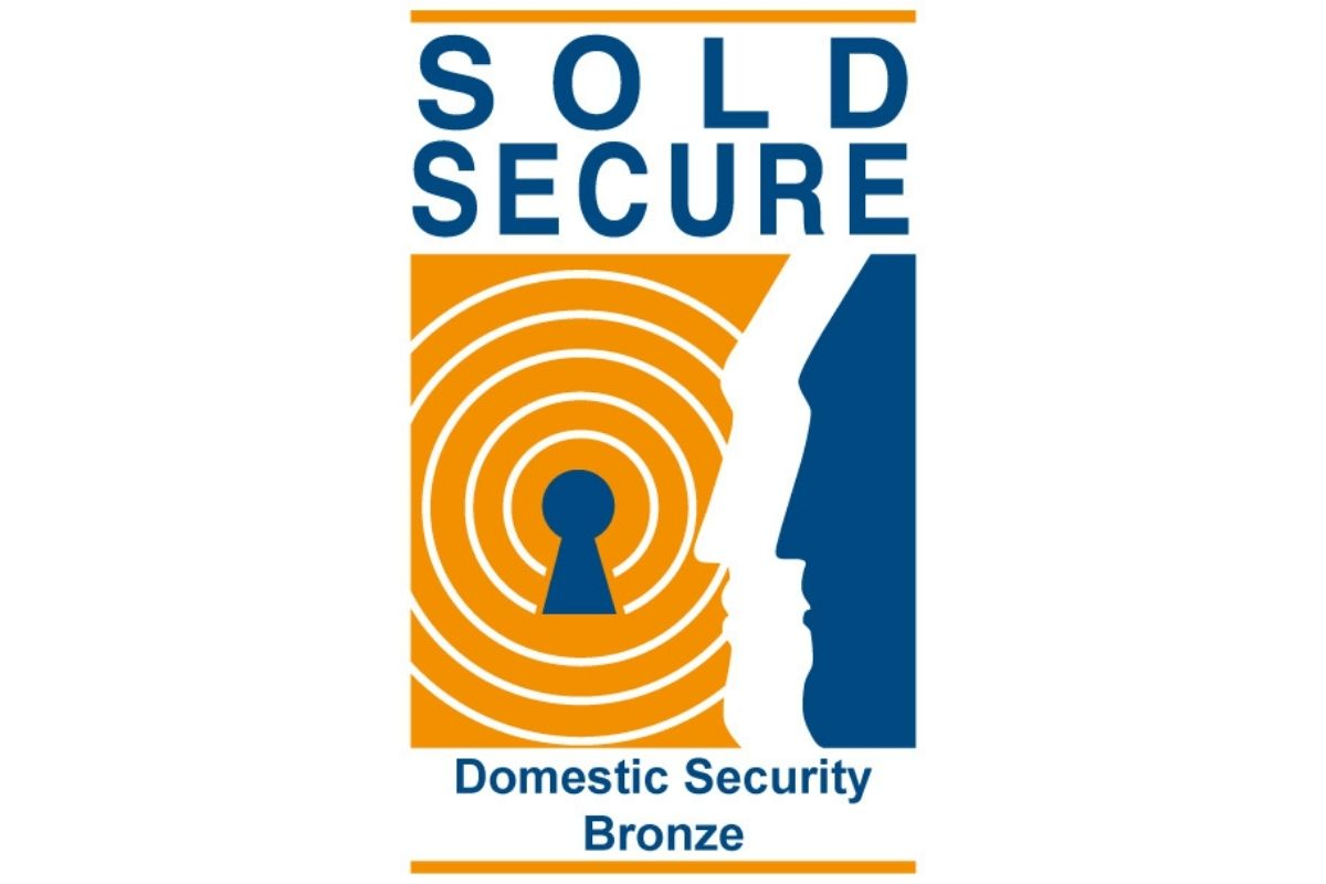 Jackloc award for Sold Secure Domestic Security